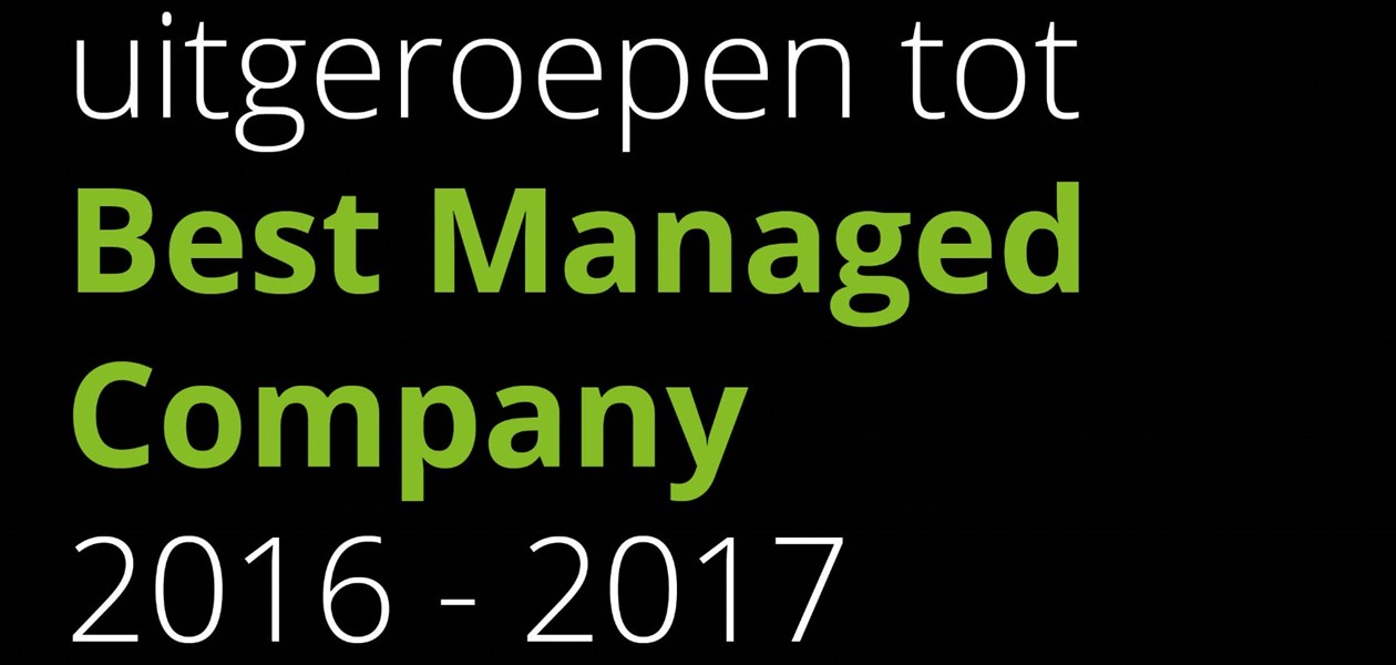 BGDD is Best Managed Company 2016-2017