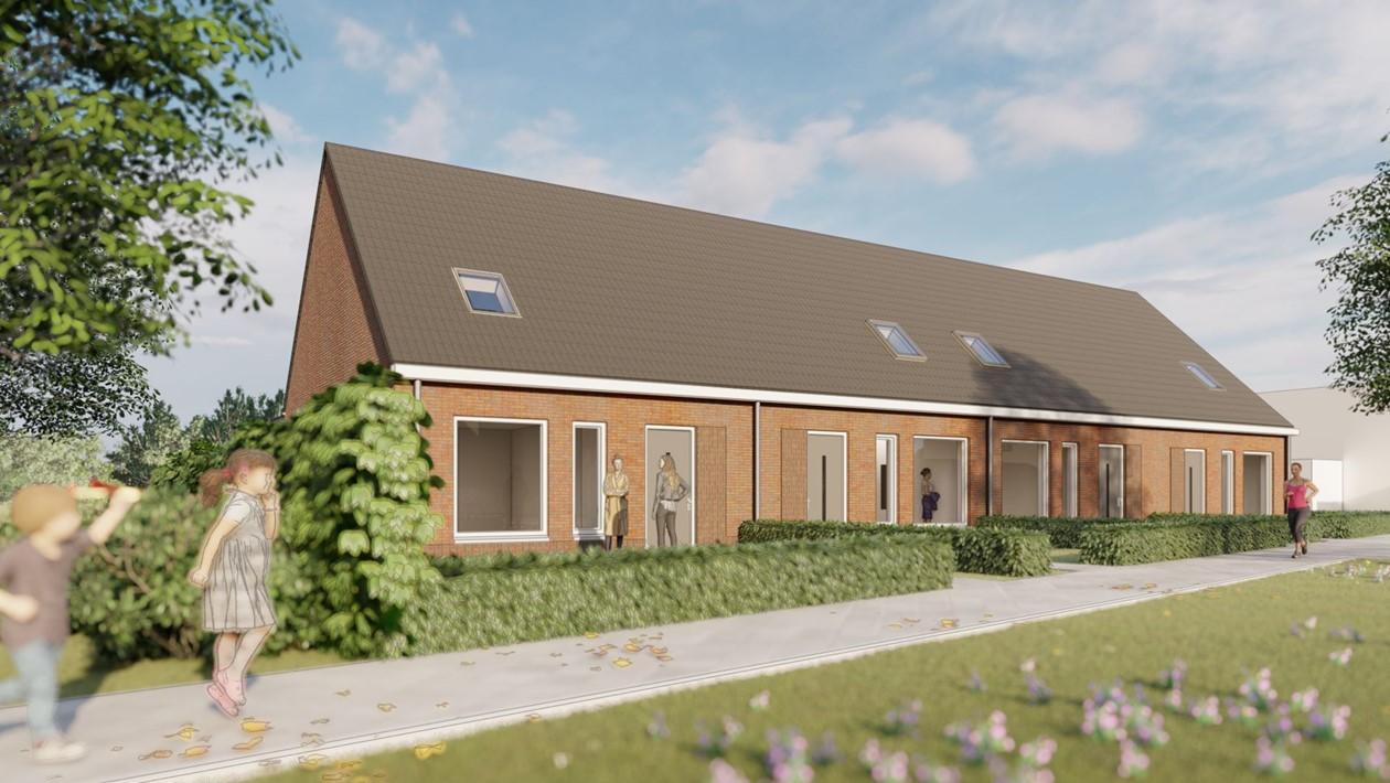 Nieuwbouw 13 Woningen Middelstum Bouwgroep Dijkstra Draisma