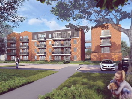 Design & Build 92 appartementen Plan Zuid fase 3, Harlingen